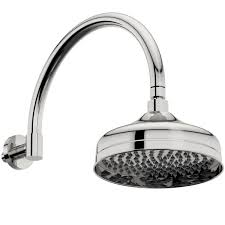 the bath co winchester shower head with traditional wall arm