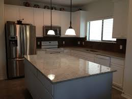 Colonial Kitchen Cabinets by Colonial White Granite With White Cabinets Kitchen Upgrade