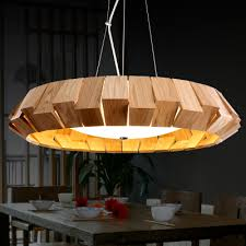 Wooden Pendant Lights Rustic Wooden Pendant Light Southeast Style Dinning Room Pendant
