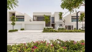 contemporary style villa dubai united arab emirates youtube