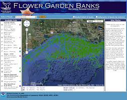 Map Of Gulf Of Mexico Flower Garden Banks National Marine Sanctuary Regional Maps