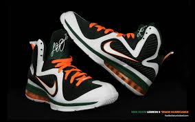 wallpaper lebron 9 miami hurricanes slamonline