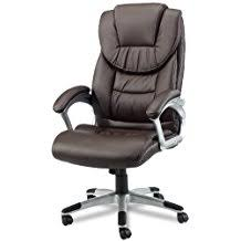 fauteuil de bureau cuir eblouissant chaise de bureau cuir office jazz marron beraue blanc