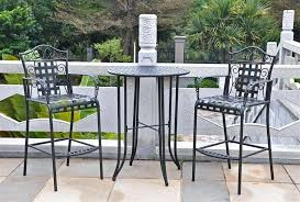 Outdoor Bistro Table Chic Bistro Table Set Innovative High Cafe Table And Chairs