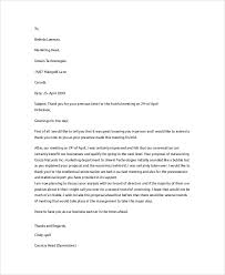 thank you letter examples interview business meeting thank you letter choice image letter examples ideas