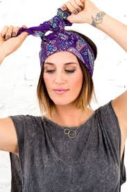 4 ways to wear a scarf on your head this spring scarves hair