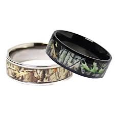 camo wedding band sets cheap titanium wedding rings