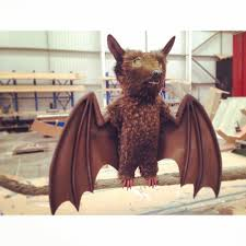 an animatronic bat we have produced with moving wings and mouth