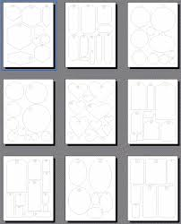 templates for scrapbooking scrapbooking tags templates printable shapes