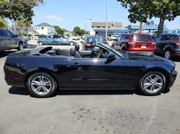 2014 blue mustang convertible used 2014 ford mustang for sale arroyo grande ca