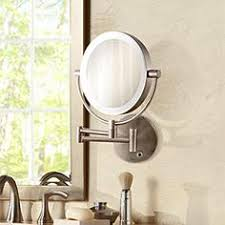 Wall Mounted Mirror With Lights Lighted Mirrors Lamps Plus