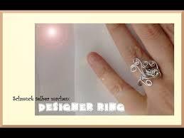 ring selbst designen selber machen designer ring aus aluminiumdraht