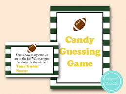football baby shower green football baby shower magical printable