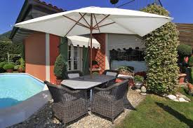 lake view detached house in vignone 2 bedroom with pool and garage