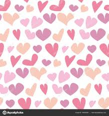 heart wrapping paper seamless polka dot pattern with assorted