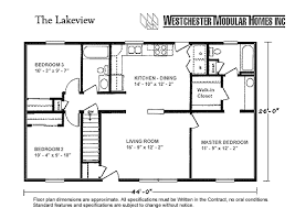 Modular Ranch House Plans Lakeview By Westchester Modular Homes Ranch Floorplan