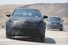 toyota scion toyota u0027s new subcompact crossover goes weather testing