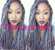 grey marley braiding hair stock factory wholesale cheap price 16 folded length 100