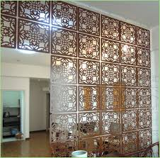 business room dividers modern looks fashion hanging screen wood