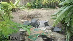 rock garden with tropical planting in bangkok thai garden design