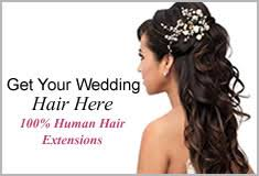 Temporary Hair Extensions For Wedding Hair Extensions By Trendy Town