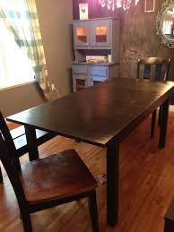 Stornas Bar Table How I Forced An Ikea Table To Turn Into A Diy Farmhouse Table