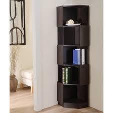 Wood Corner Shelf Design by Assorted Corner Bookcase Ideas Home Design