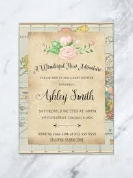 welcome to the world baby shower baby shower invitations tda party on paper