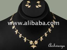 beautiful light weight gold necklace set beautiful light weight