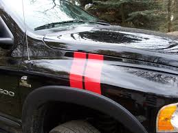 Dodge Ram Decals - all year dodge ram hash mark fender stripes pair
