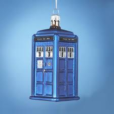 kurt adler doctor who doctor who glass tardis ornament