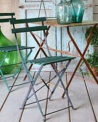 Vintage Bistro Chairs Bistro Chairs Available In Green At American Home
