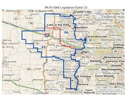 Wayne State Map Will County Politics Realigned Illinois State Legislative And