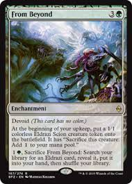 eldrazi cards from beyond enchantment cards mtg salvation