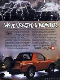 isuzu amigo purple 44 of the most bodacious car ads of the 1980s u2013 feature u2013 car and