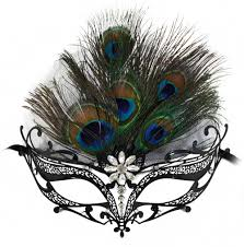 peacock masquerade masks orleans black venetian masquerade mask for women w
