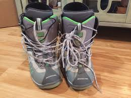 s outdoor boots in size 12 mens dc snowboarding boots size 12 condition 235 common