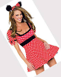 Minnie Mouse Womens Halloween Costume Minnie Mouse Costumes Adults