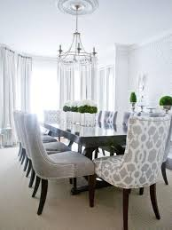 Patterned Armchair Design Ideas Contemporary Dining Room Love The Patterned Chairs For The Head