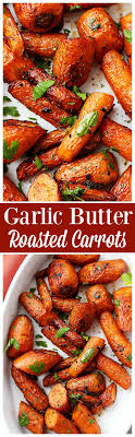 garlic butter roasted carrots recipe diethood