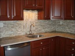 Kitchen Backsplash Peel And Stick by Kitchen Backsplash With White Cabinets Peel And Stick Glass Tile