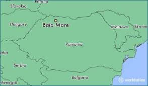 baia mare map where is baia mare romania baia mare maramures map
