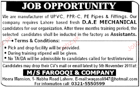 civil engineering jobs in dubai for freshers 2015 mustang dae mechanical diploma holders job opportunity 2018 jobs pakistan