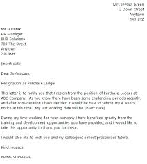sample resignation letter with regret