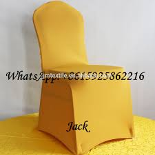Gold Spandex Chair Covers Wholesale Yellow Chair Covers Online Buy Best Yellow Chair