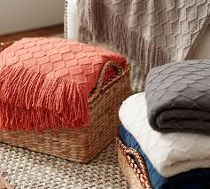 Desk Blanket Porter Throw Pottery Barn