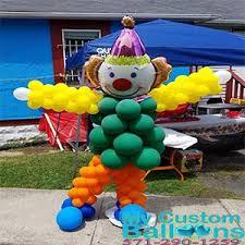 clown baloons 6 7 clown balloon sculpture my custom balloons