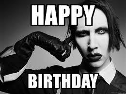 Marilyn Meme - happy birthday marilyn manson meme generator