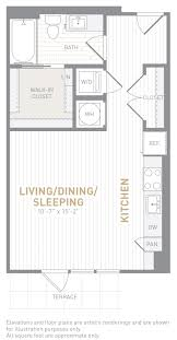 500 Sq Ft Studio Floor Plans by Floor Plans Insignia On M Apartments The Bozzuto Group Bozzuto