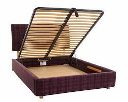Wood Ottoman Bed Jasper Upholstered Bed Frame Furniture Hoggs Furniture